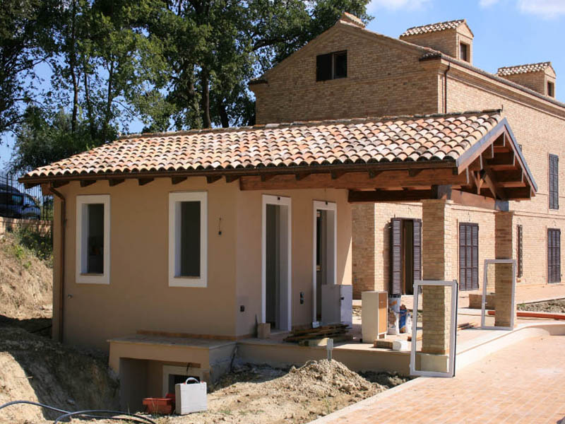 2005: Villa Widemmann, Lapedona (AP) - CLEMENTONI COSTRUZIONI Imprese edili Corropoli (Teramo ...