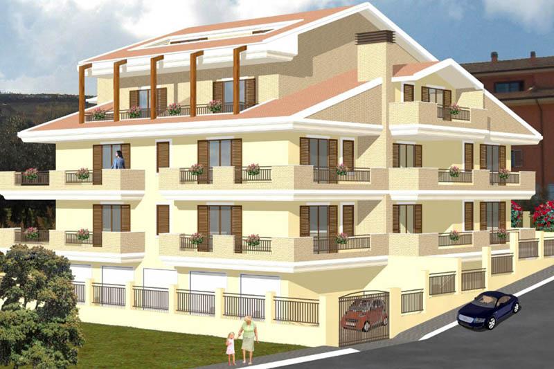 2009: Complesso residenziale a Tortoreto Lido (TE) - CLEMENTONI COSTRUZIONI Imprese edili ...